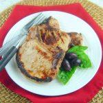 Grilled Brined Pork Chops –