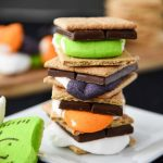 Halloween S'mores - 30 Days of Halloween 2017: Day 15