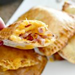 Homemade Ham and Cheese Hot Pockets in the Air Fryer   Easy Recipe