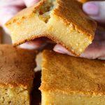 Hawaiian Butter Mochi Recipe   Pickled Plum   Easy Asian Recipes