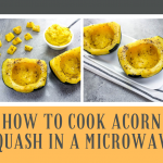 How to Cook Acorn Squash in a Microwave   Just A Pinch