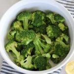 How to Steam Broccoli in the Microwave - Whole Lotta Yum