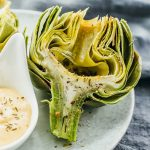 How To Cook Artichokes In The Microwave - Savory Tooth