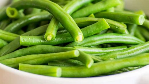 How to Steam Green Beans in the Microwave - Baking Mischief