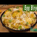 Egg Biryani Recipe   how to make egg biryani in cooker & dum style