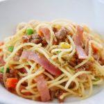Garlic Minced Pork Spaghetti Recipe