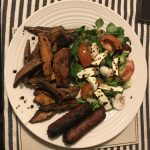 Natural, herby homemade sweet potato fries! – An English and A French