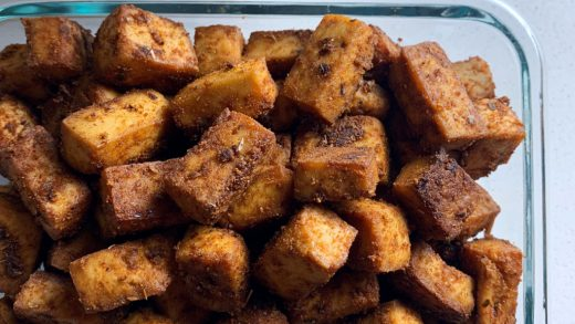 Lean Pantry: Cumin Roasted Tofu – Radiate Food Vibes