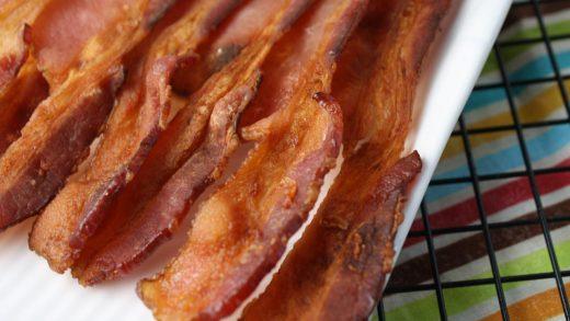Mess Free Crispy Bacon - Tessa the Domestic Diva