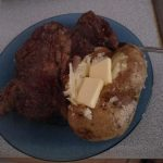 Bachelor Cooking: Steak and Baked Potatoes (with no microwave) – Chuck The  Writer