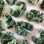 3 Minute Microwave Kale Chips - Cheerful Choices Food and Nutrition Blog