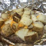 Poor Man's Steaks & Baked Potatoes – #FoodieScore