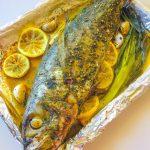 Mediterranean Oven-Roasted Cavalla ✓ – MADEEASYBYTHABITHA