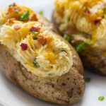 Jalapeno Popper Twice Baked Potatoes - I Am Homesteader
