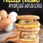 Healthy Freezer Friendly Breakfast Sandwiches | Simply Sissom