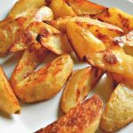 Bomb Baked Potato Wedges with Variations - Frugal Hausfrau