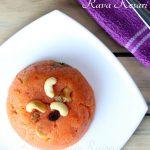 Rava Kesari in microwave - Sooji Halwa in Microwave | Simple Indian Recipes