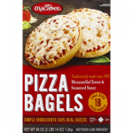 Macabee Pizza Bagels, Mozzarella Cheese & Seasoned Sauce (46 oz) - Instacart