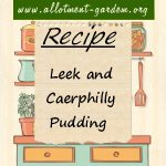 Leek and Caerphilly Pudding Recipe - Allotment Recipes