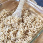 easy oven baked brown rice - Marin Mama Cooks