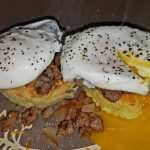 Easiest Way to Cook Yummy Low-carb Almond Flour Bread with Poached eggs &  Turkey Sausage   West Main Kitchen