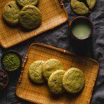 Matcha Chocolate Chip Cookies (Vegan, Gluten-Free) - Ellie Likes Cooking