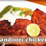 Tandoori Chicken In Microwave And Green Chutney   Sharmilazkitchen - YouTube
