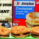 Jimmy dean breakfast croissant calories