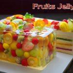 Delicious Vanilla Sponge Cake | Beautiful Fruit Jelly Cheesecake Recipe |  Cup Measure - Yummy Cake Tutorials