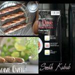 Chicken Seekh kebab | Seekh kabab recipe in Microwave Oven Using LG  Microwave Oven - YouTube