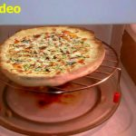 How to make Chicken Pizza - step by step in Microwave Oven - YouTube