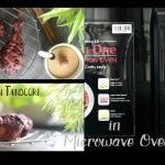 Chicken tandoori in Microwave Oven Using LG Microwave Oven - YouTube
