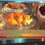 Tandoori chicken recipe in Microwave/tandoor chicken at home - YouTube