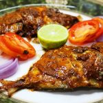 Grilled Pomfret   Roasted Pomfret Fish (With and Without Microwave Oven) -  Chef Lall's Kitchen - YouTube