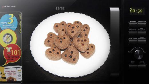 Ragi Biscuits Recipe in Microwave Oven | Maida Flour Biscuit Cookies  Eggless Nankhatai Recipe - YouTube
