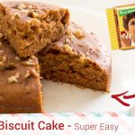 Parle-G Biscuit Cooker Cake - Something's Cooking with Alpa