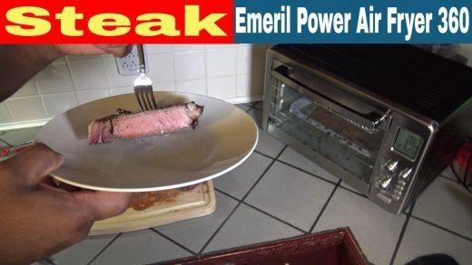 Steak (Emeril Lagasse Power Air Fryer 360 XL Recipe) - Air Fryer Recipes,  Air Fryer Reviews, Air Fryer Oven Recipes and Reviews