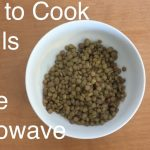 How to Cook Lentils in the Microwave - YouTube