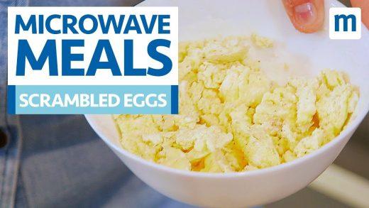 Microwave Scrambled Eggs - YouTube