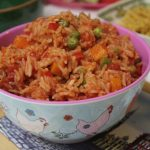 Green Gourmet Giraffe: Mexican Rice in the Microwave