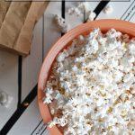 Homemade microwave popcorn, a NellieBellie recipe