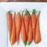 Microwave Steamed Carrots   Love Food Not Cooking