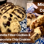 Microwave Chocolate Chip & Nutella Cookies - The Home Maker Baker