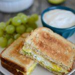 Microwave Egg Sandwich Recipe in 90 Seconds