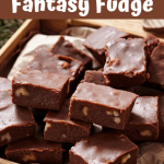 Microwave Fantasy Fudge - Insanely Good