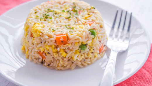 Microwave Fried Rice | Just Microwave It
