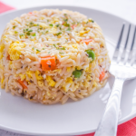 Microwave Fried Rice   Just Microwave It