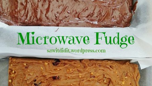 Microwave Fudge | Saw it, Pinned it, Did it!