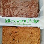 Microwave Fudge   Saw it, Pinned it, Did it!