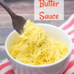 Garlic Butter Sauce in the Microwave   Just Microwave It